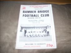 Bamber Bridge v Glossop, 1990/91